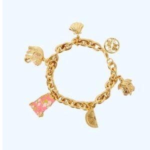 NWT Lilly Pulitzer GWP Charm Bracelet